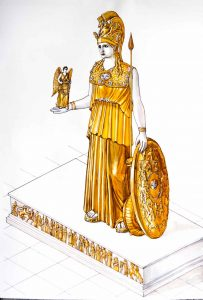 The lost statue of Athena Parthenos'