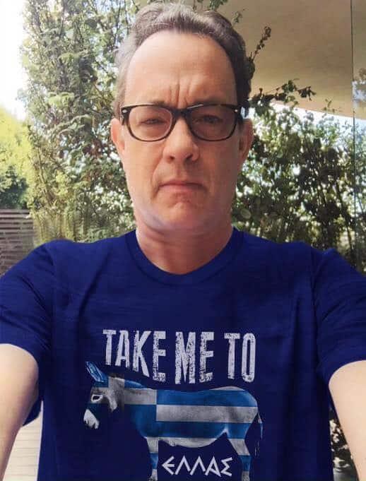 Tom Hanks - Take me to Hellas