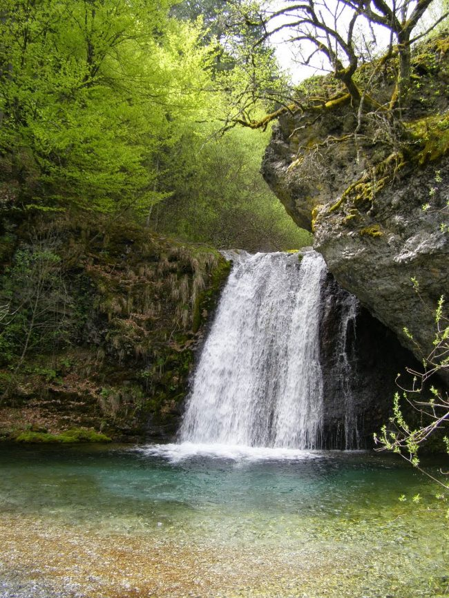 Canyon and Waterfalls of Enipeus