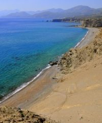 Beach of Agios Pavlos, Crete