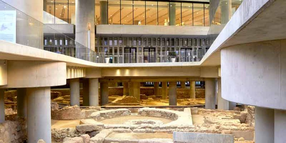 The 11th birthday of the Acropolis Museum