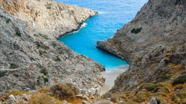 The best 20 beaches in Crete