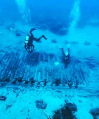 Ancient shipwreck of Avlemonas (Lord Elgin) Kythera