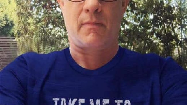 """Take me to Hellas"" t-shirt by Tom Hanks"