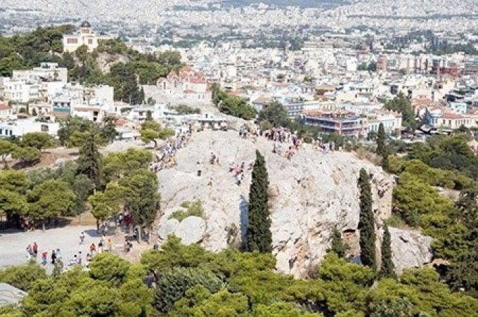 Athens the 5th footstep of St Paul
