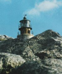 Lighthouse on Kandelioussa islet