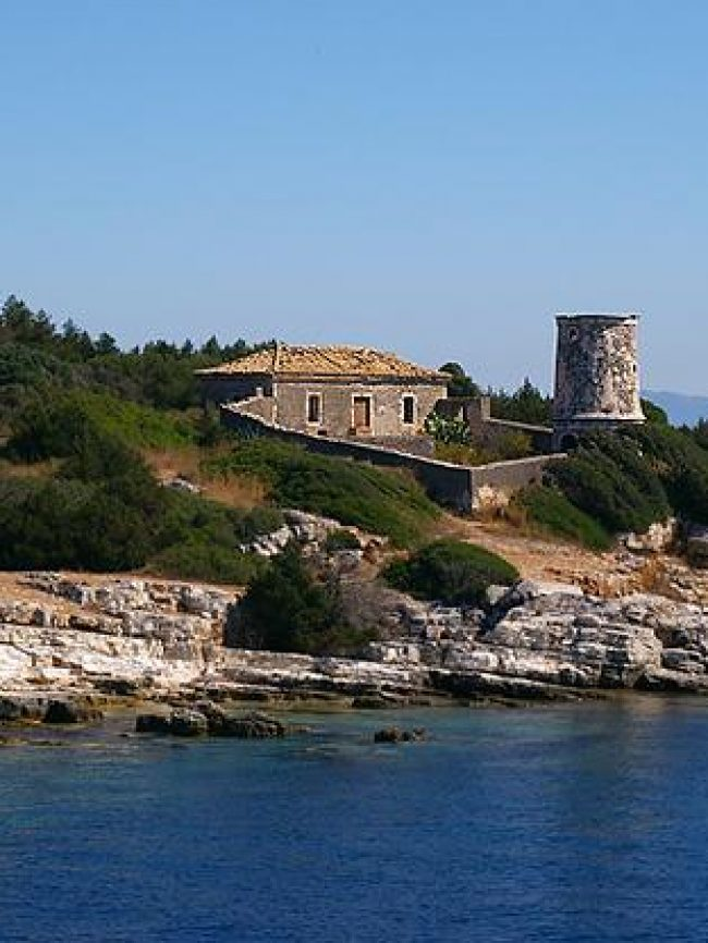 Lighthouses of Fiskardo Kefallonia