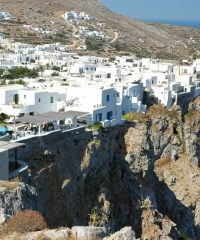 Hora Folegandros and the Castle