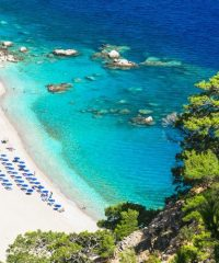 Apella Beach on Karpathos island
