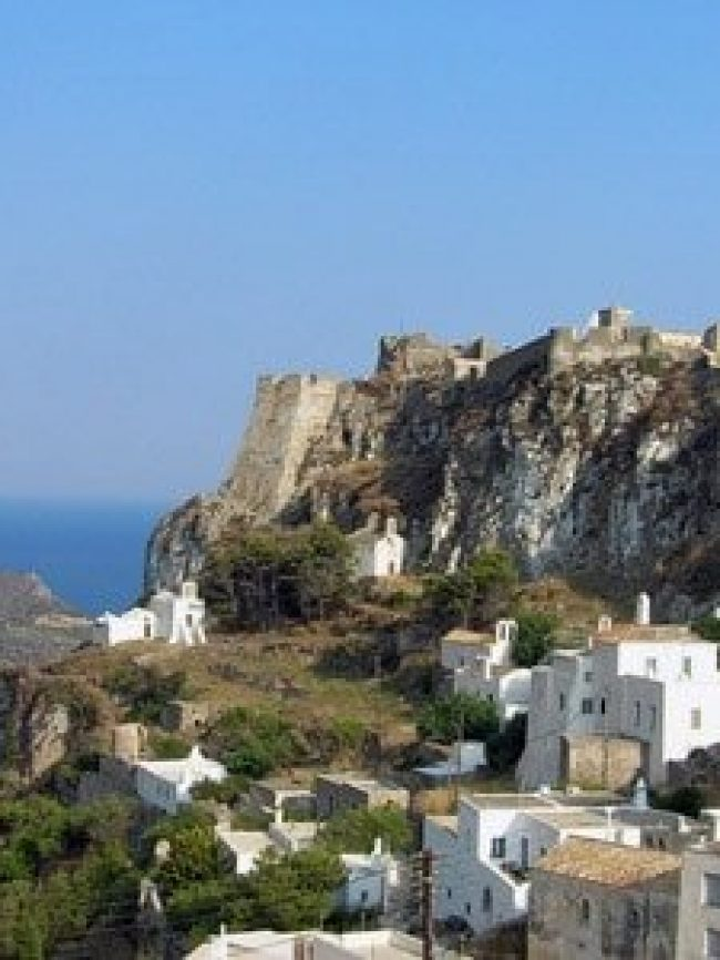 Castle of Chora Kythera island