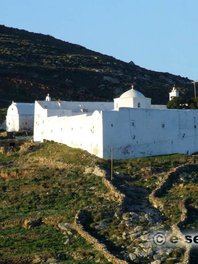 Monastery of Taxiarches Serifos
