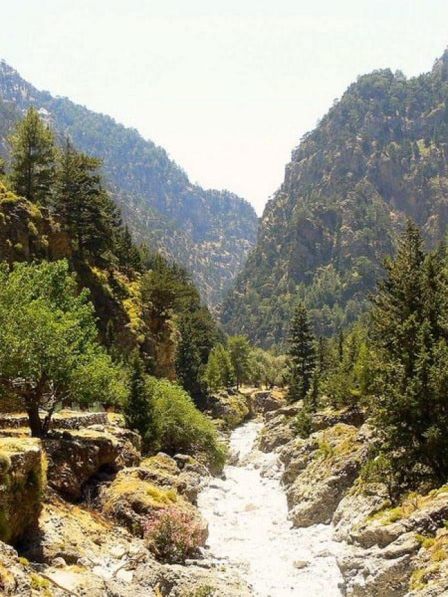 The gorge of Samaria