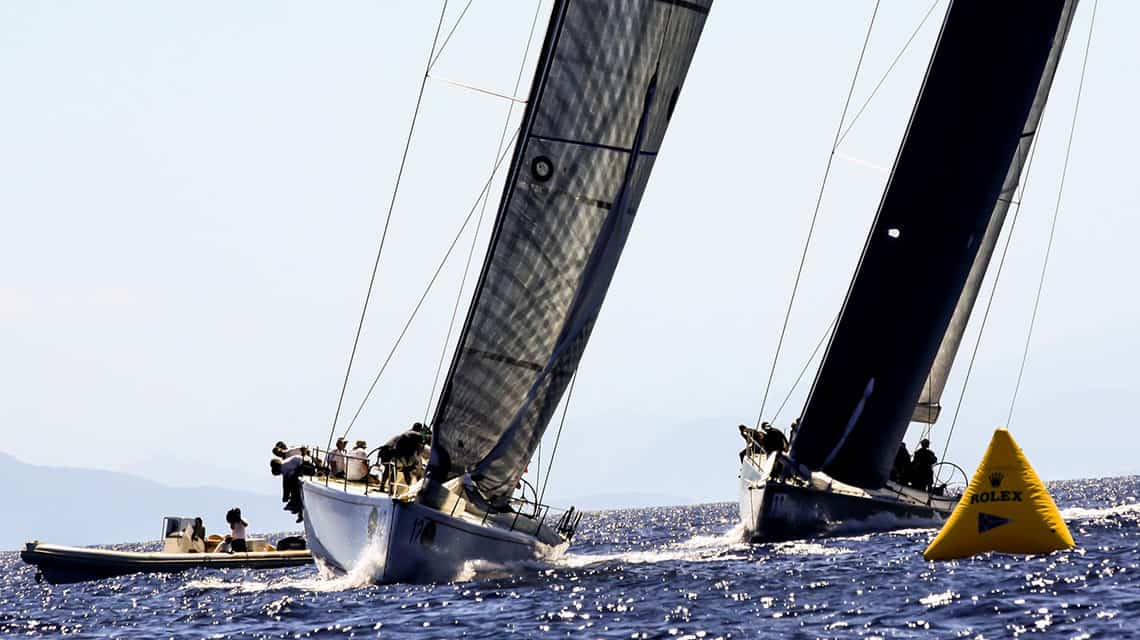 Corfu Challenge Maxi72 Class race in Greece