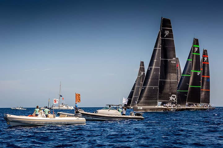 Maxi72 Class race in Greece