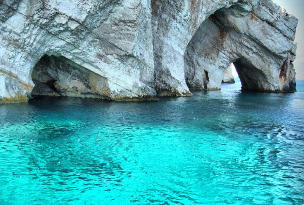Blue caves Zante - MyGreekHeart