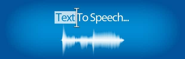 text-to-speech